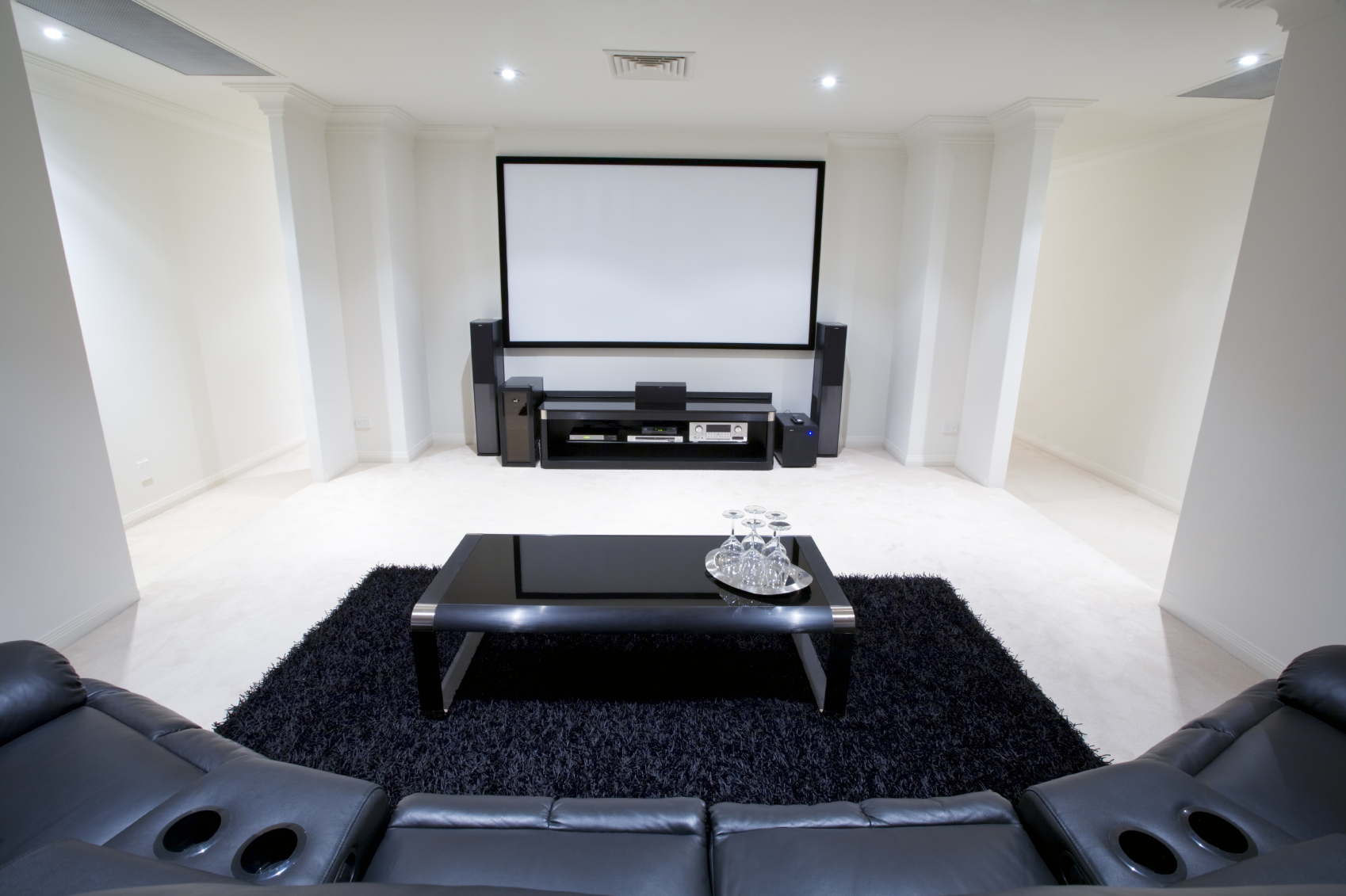 Houston Home Theater Design Bring The Big Screen Home